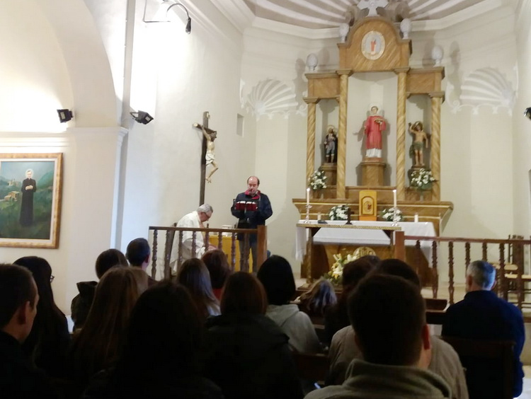 - At Mass in the church of Pallerols