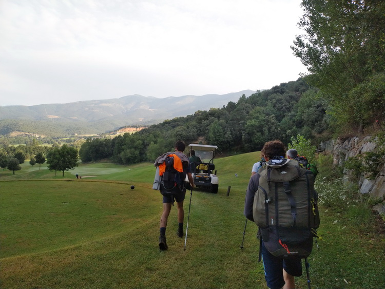 - Crossing the Aravell's Golf